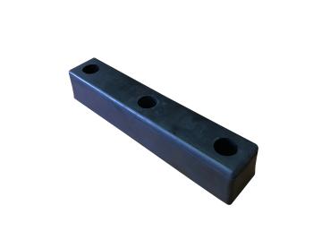 Rubber Bumper Ø 20 mm (400 mm x 80 mm x 70 mm)
